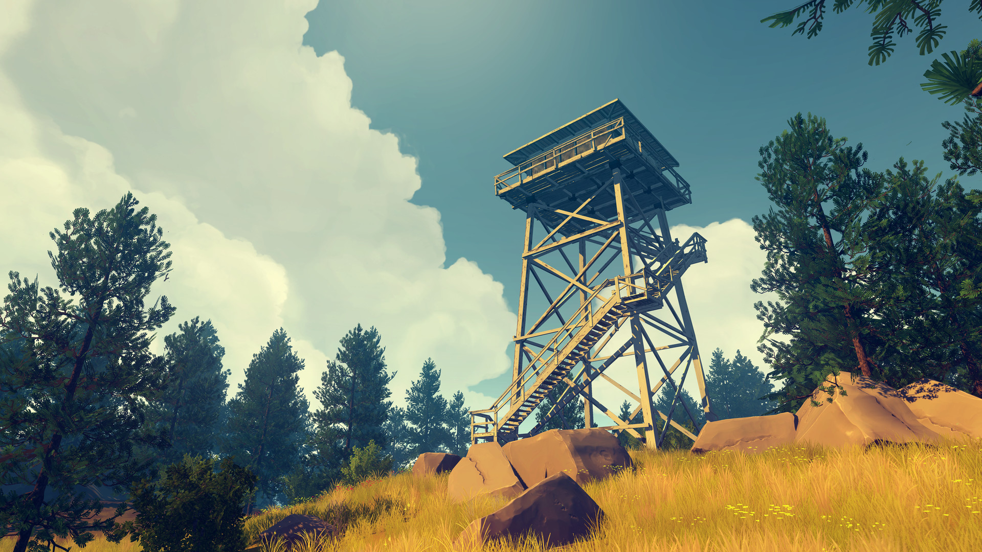 The stunning mystery game Firewatch is headed to the Switch and we're seriously looking forward to it