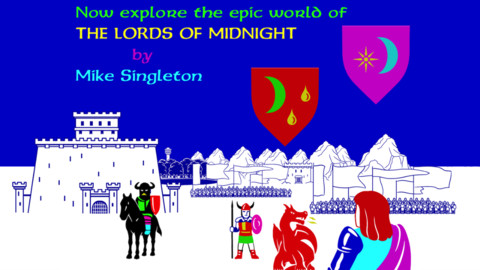 Mike Singleton's 'timeless' strategy RPG The Lords of Midnight now available for 99c / 69p