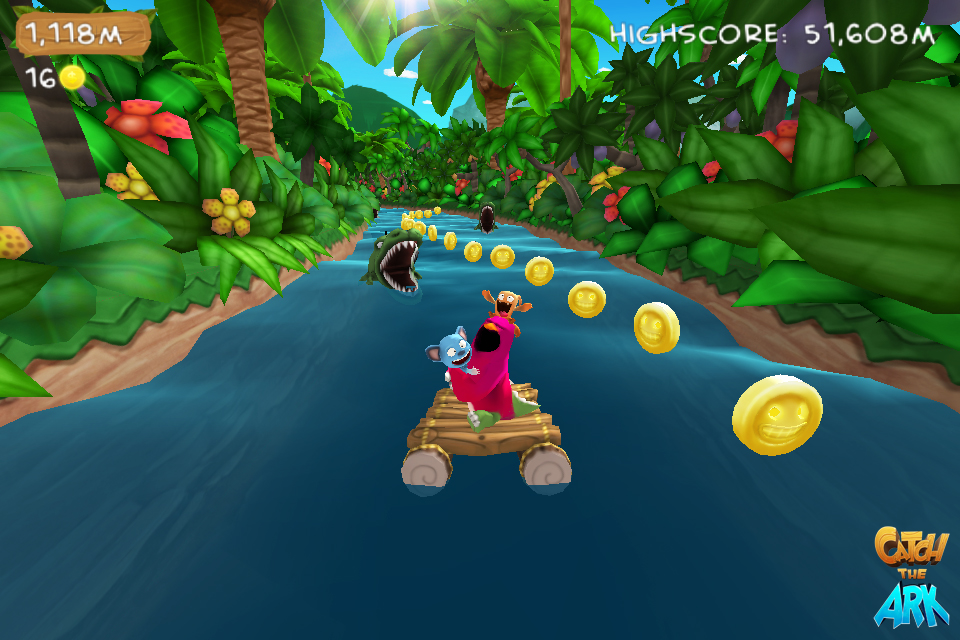 Visually impressive endless-runner Catch the Ark coming to iOS in Q3 2012