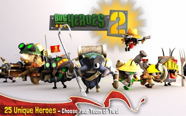 Third-person tower defence blaster Bug Heroes 2 will go live for iOS on February 20th