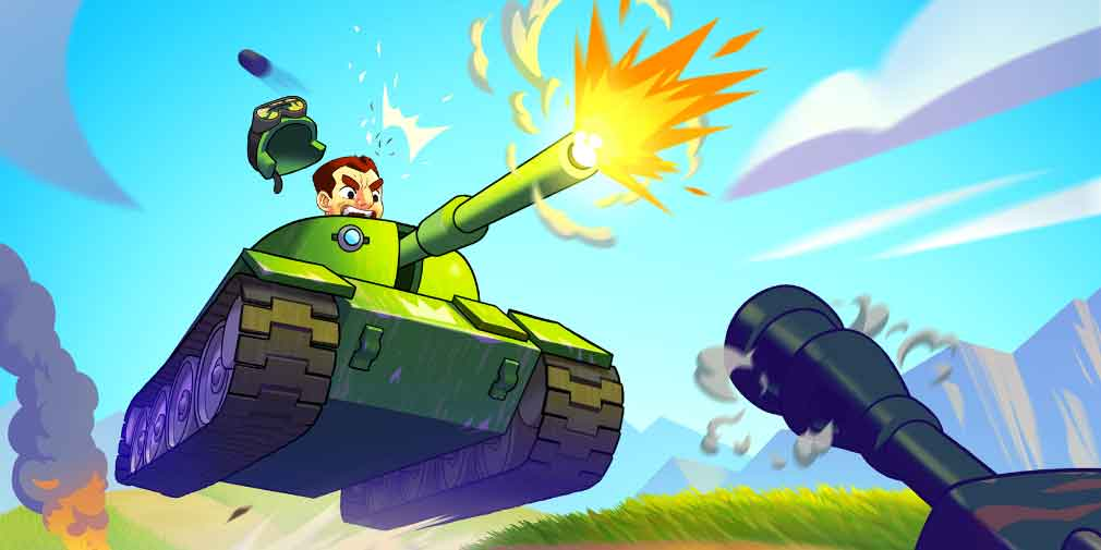 Casual tank-battler Hills of Steel rolls its way past 22 million downloads