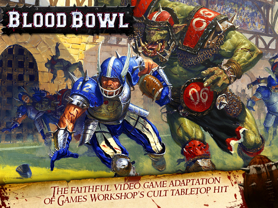 [Updated] Blood Bowl will be hitting a sanguine touchdown tomorrow on iPad and Android tablets