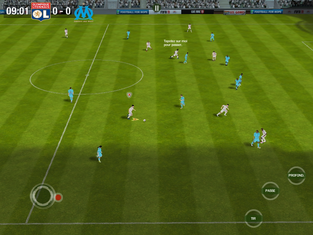 Gamescom '11: Hands-on with FIFA 12's Manager Mode on iPhone