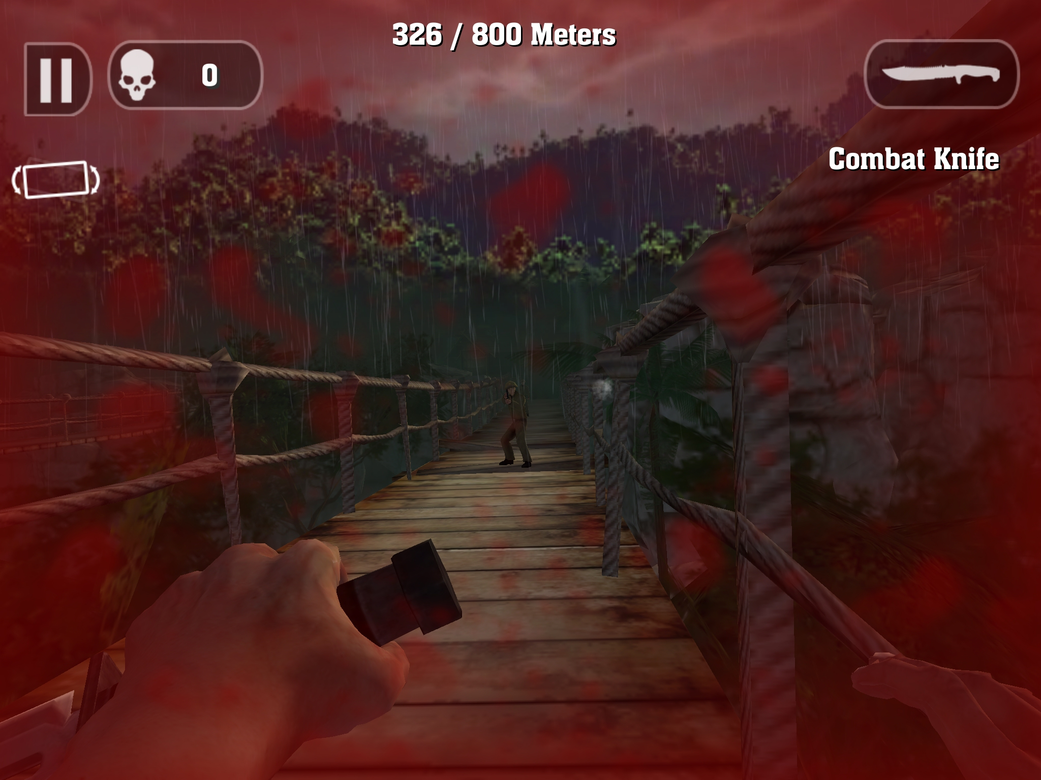 Rambo: The Mobile Game - I came here to rescue you from him