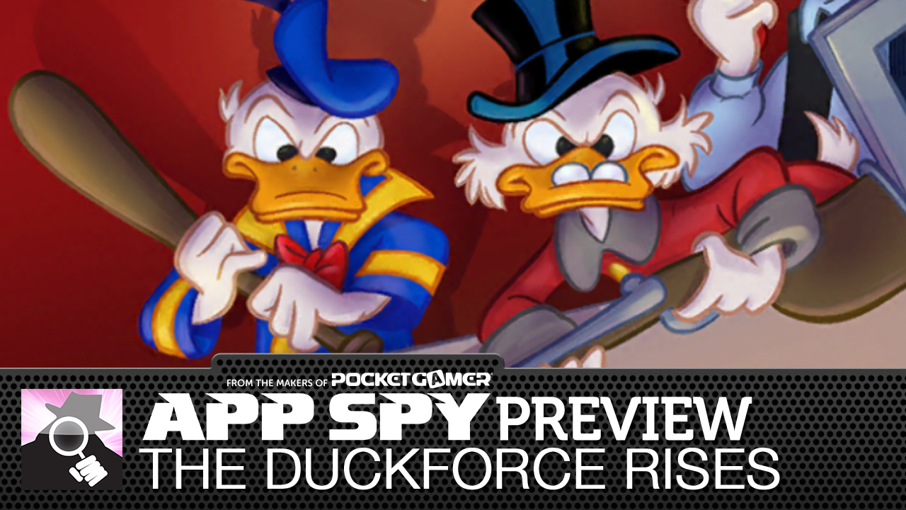 The Duckforce Rises is a card battler RPG hybrid from Disney, starring Donald Duck, Scrooge McDuck, and more