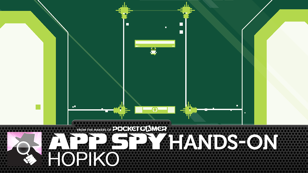 Hopiko is a brutally hard platformer from Laser Dog, with a soundtrack composed on a Game Boy