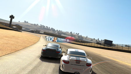 Real Racing 3 outed on Game Center profile of EA employee