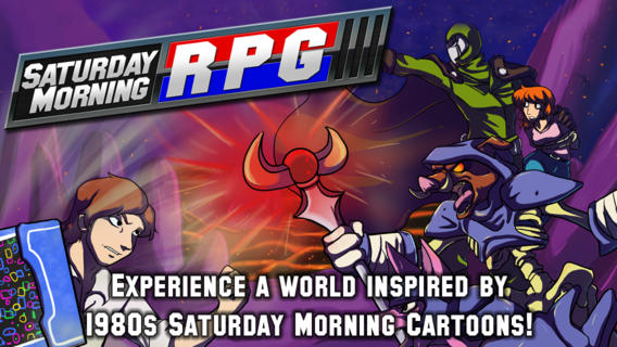 Saturday Morning RPG is going to air on PS Vita soon