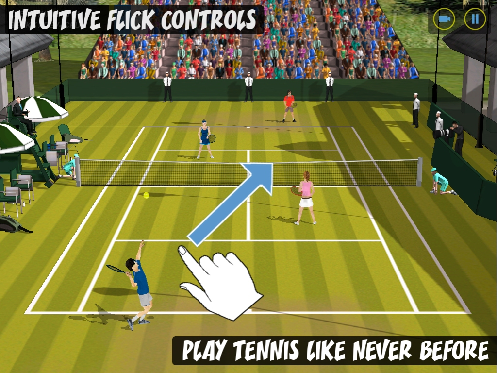 Super Badminton 2010 dev switches racquet to serve up sports-RPG Flick Tennis: College Wars HD on iPad