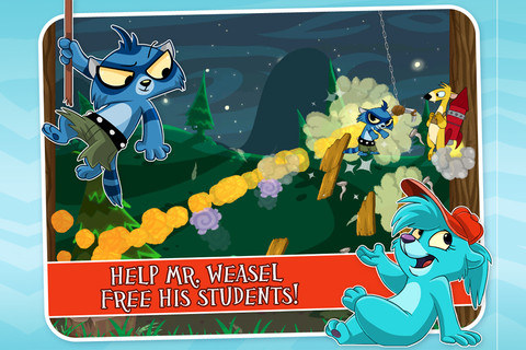 Angry Birds-inspired Rocket Weasel blasts onto App Store
