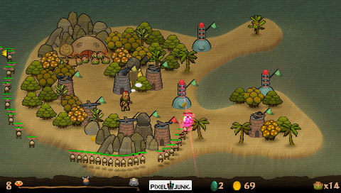 PixelJunk to drop PSP over piracy issues