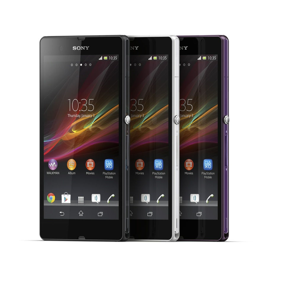 CES 2013: Hands-on with the Sony Xperia Z and ZL