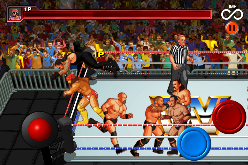 WWE WrestleFest for iPhone and iPad gets Rowdy Roddy Piper