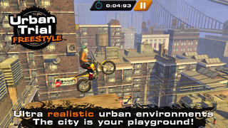 New stunt biker Urban Trial Freestyle does what Trials don't on iOS