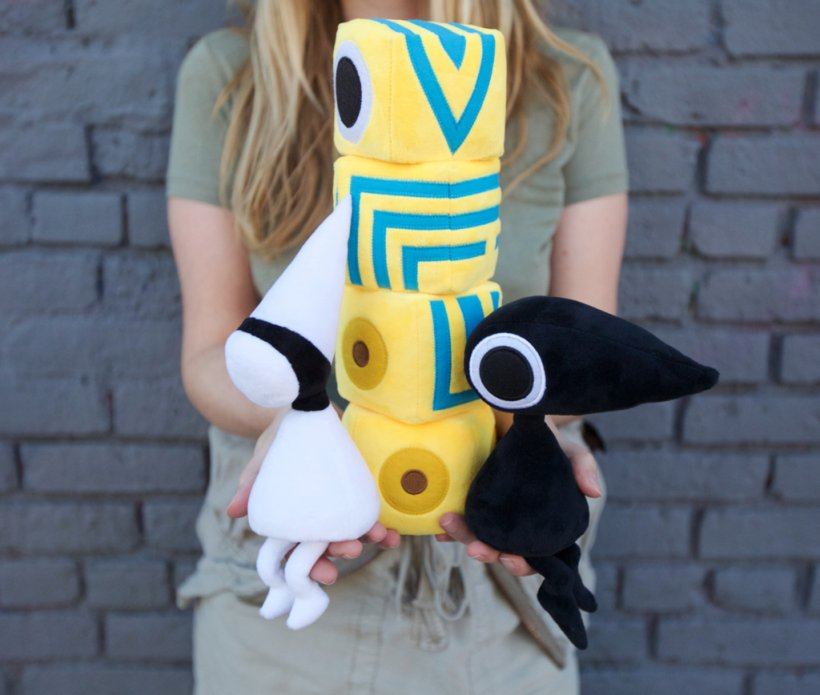 At last, Monument Valley has official plushies you can buy right now