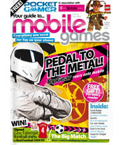 The T-Mobile Pocket Gamer magazine January 2009 is out
