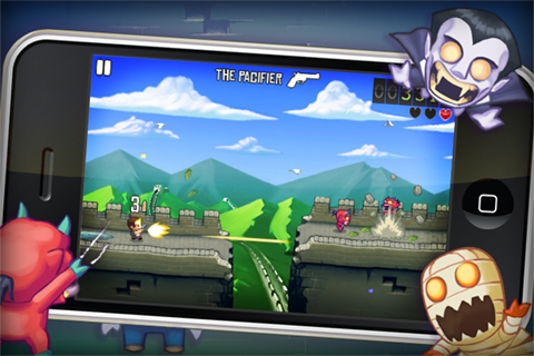 Monster Dash running onto iPhone tomorrow