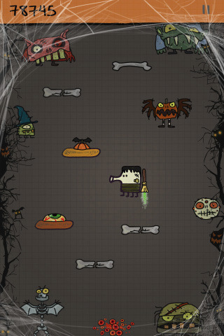 Doodle Jump gets spooky Halloween update, Game Center incoming