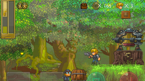 Out at midnight: Steam Punks is a Victorian version of Mega Man X