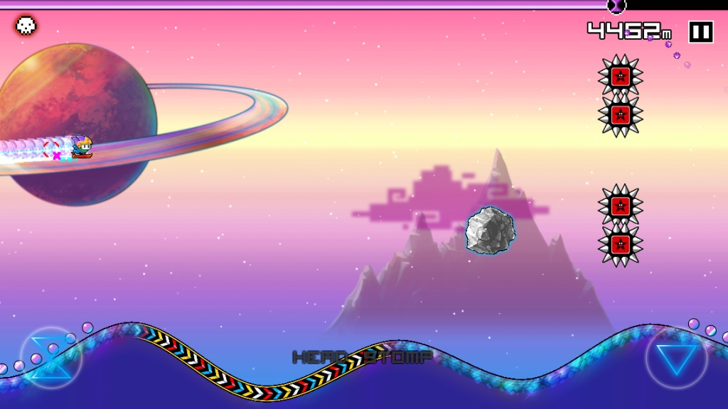 Tiny Wings meets Braid in Time Surfer for iOS