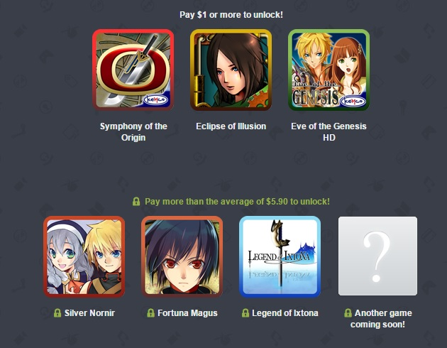 Humble Mobile Bundle offers a range of Kemco JRPGs for a single small price