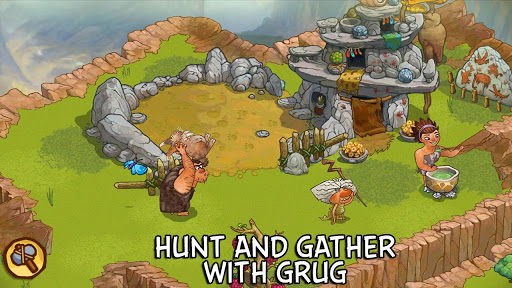 Catch Girelephants and Molarbears in Rovio's movie tie-in game The Croods