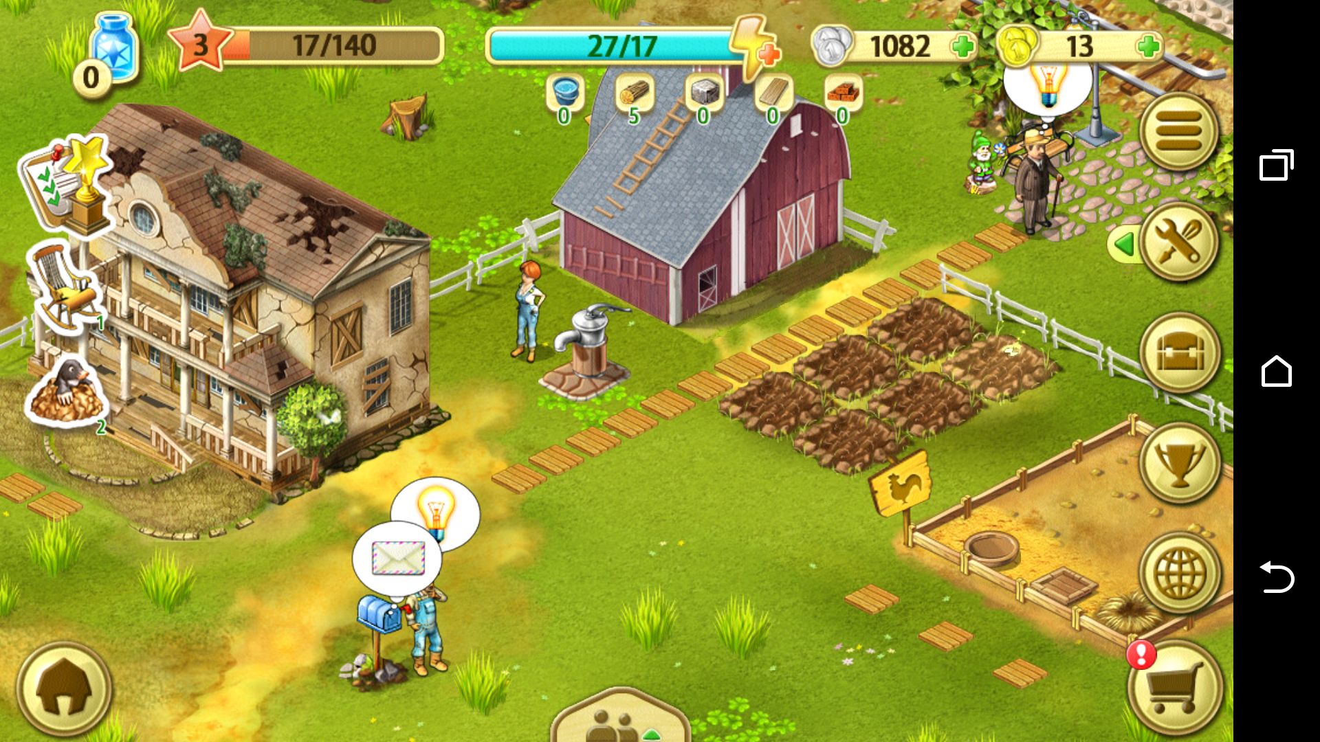 Jane's Farm: Farming Game - Build your Village icon
