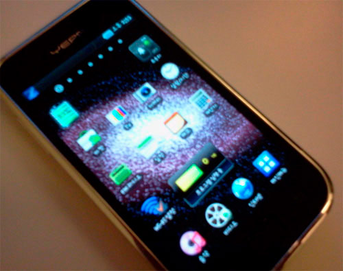 Samsung's YP-MB2 Android media player appears in the wild