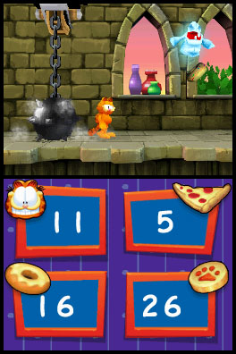 Hungry Comic Cat Gets Game In Garfield S Nightmare Ds Articles Pocket Gamer