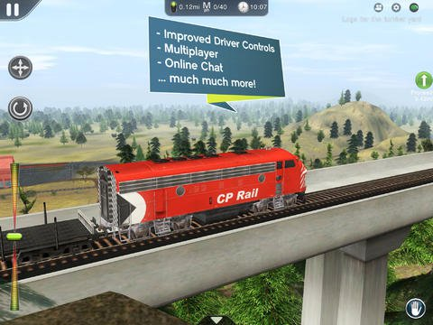 Out at midnight: Trainz Simulator 2 lets you build a rail-based empire on your iPad