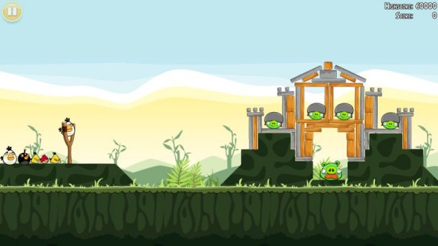 Angry Birds Ovi tips and tricks
