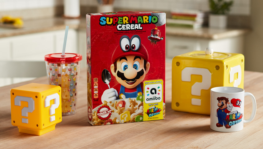 Nintendo's about to release Super Mario Cereal in the US