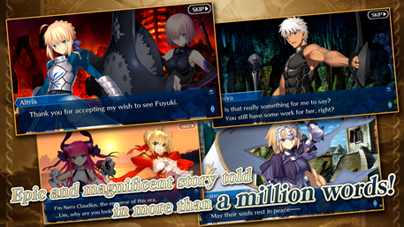 The popular Japanese RPG Fate/Grand Order launches on mobile
