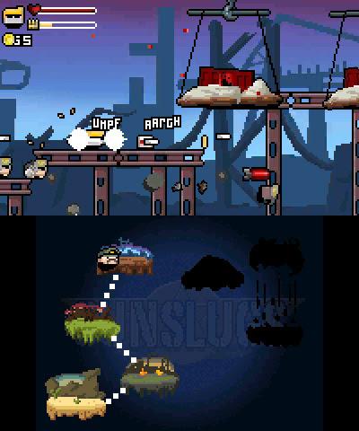 Retro-style run-'n'-gunner Gunslugs 2 brings explosive action to 3DS tomorrow