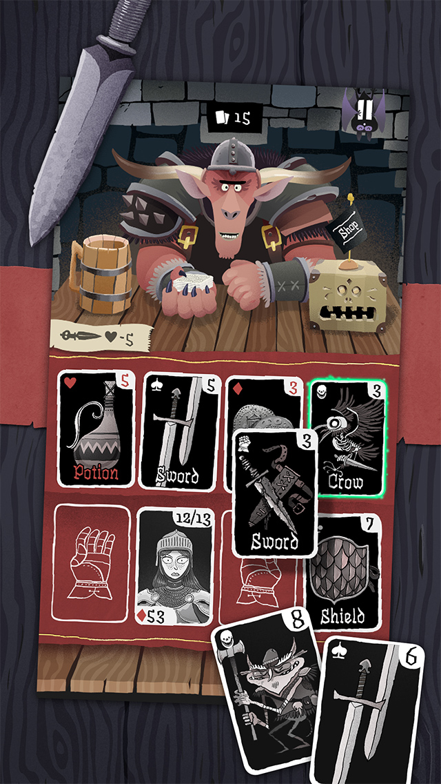 Custom dungeon decks and new abilities come to Card Crawl next week