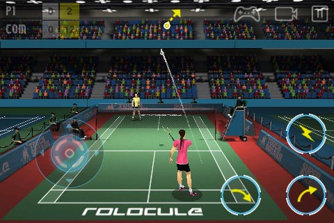 Rolocule smashes Super Badminton 2010 onto the App Store