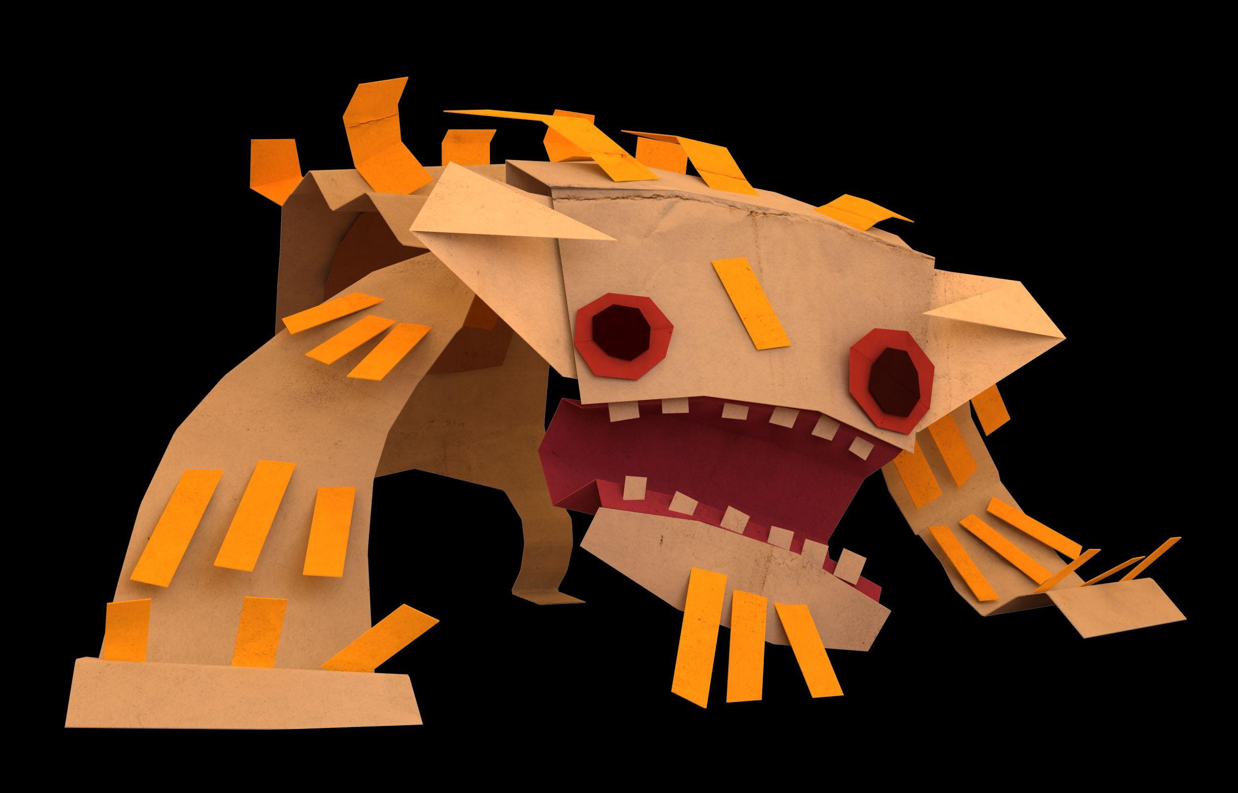 Hands-on with Tearaway - Media Molecule's pop-up papercraft platformer