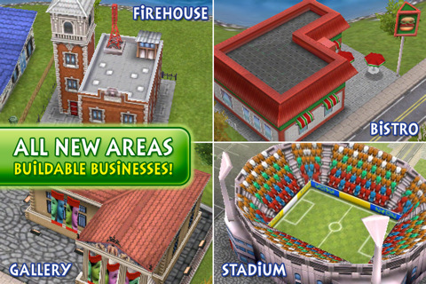 The Sims 3 Ambitions iPhone hits the New Zealand App Store