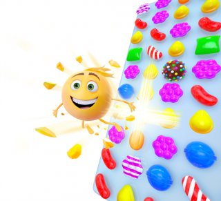 Candy Crush Saga celebrates The Emoji Movie's release with a themed in-game event