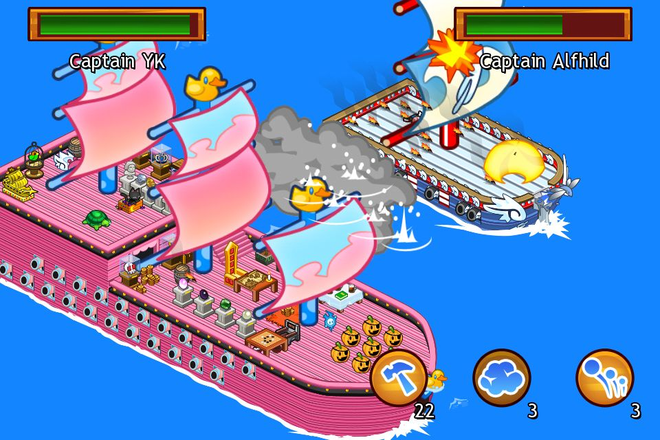Lil' Pirates on iPhone update adds iPad support, Game Center