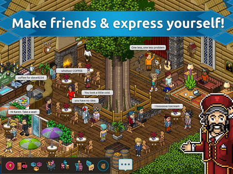 Iconic social game Habbo Hotel is coming to Android tomorrow