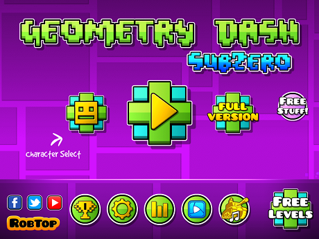 "Geometry Dash SubZero tips and tricks - How to clear ""Press Start"""