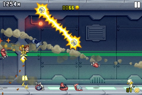 All of Halfbrick's iOS games are free right now, including Jetpack Joyride