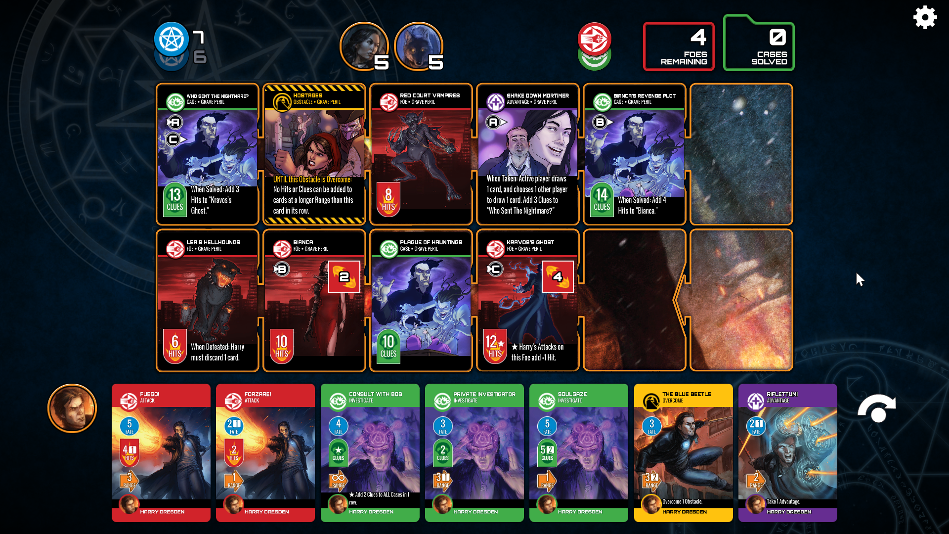 The Dresden Files is a new cooperative digital card game for iPhone and iPad that could be worth a look