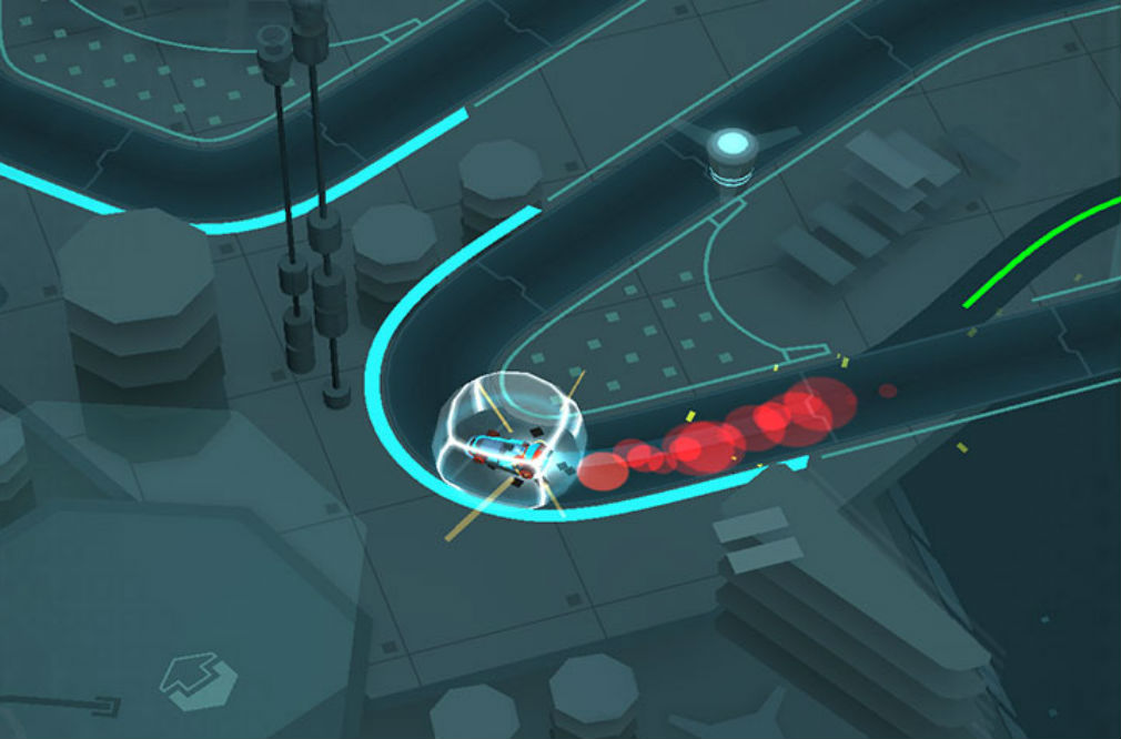 Hyperdrome is a frantic mash-up of a card game and a racer that's out now for iPhone, iPad, and Android