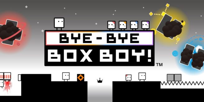 Bye-Bye BoxBoy!, the latest entry in the BoxBoy! series, will arrive March 23rd in Europe