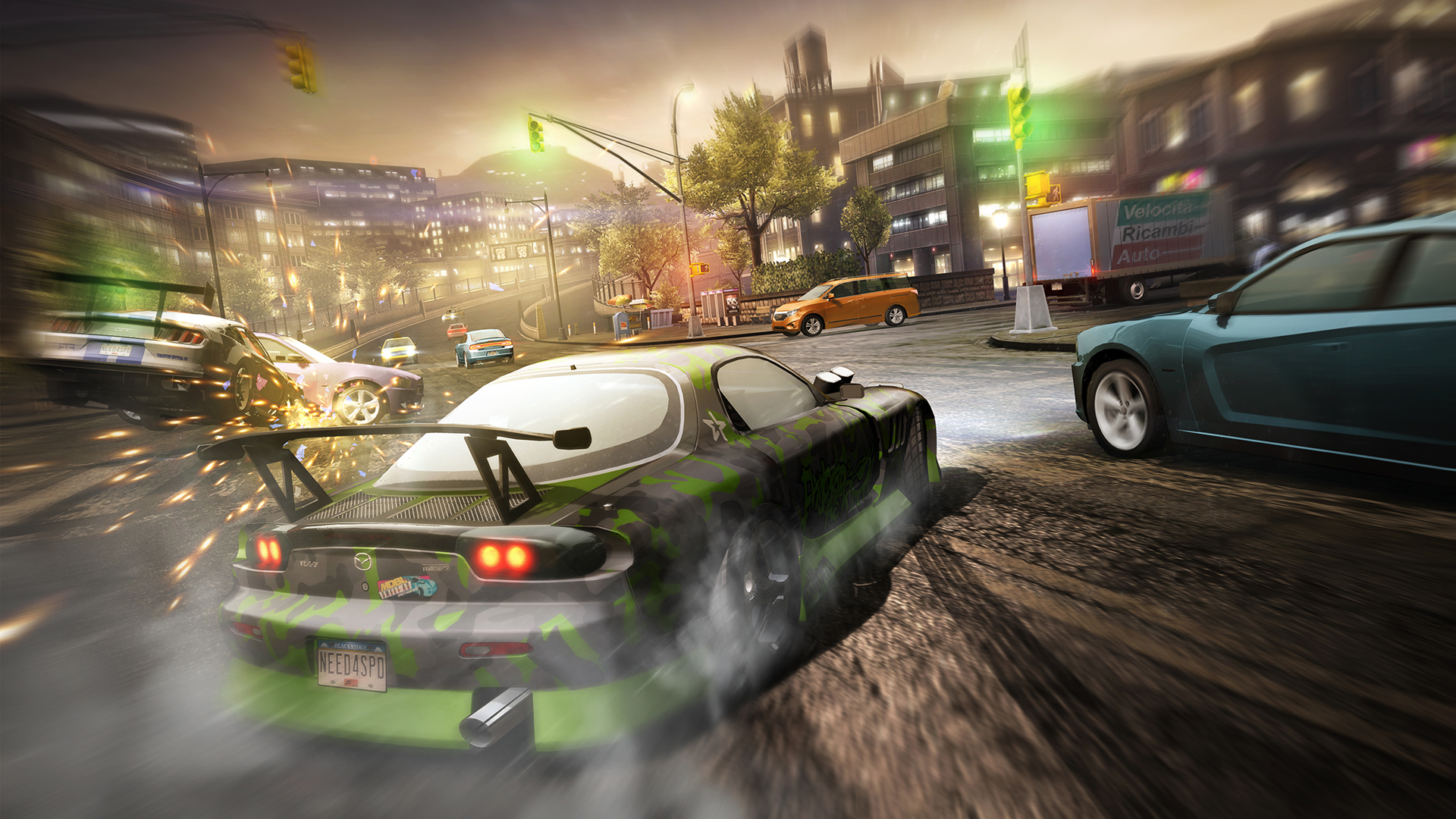 Discover the world of underground car culture in Need for Speed: No Limits now visually overhauled for SHIELD Tablet K1