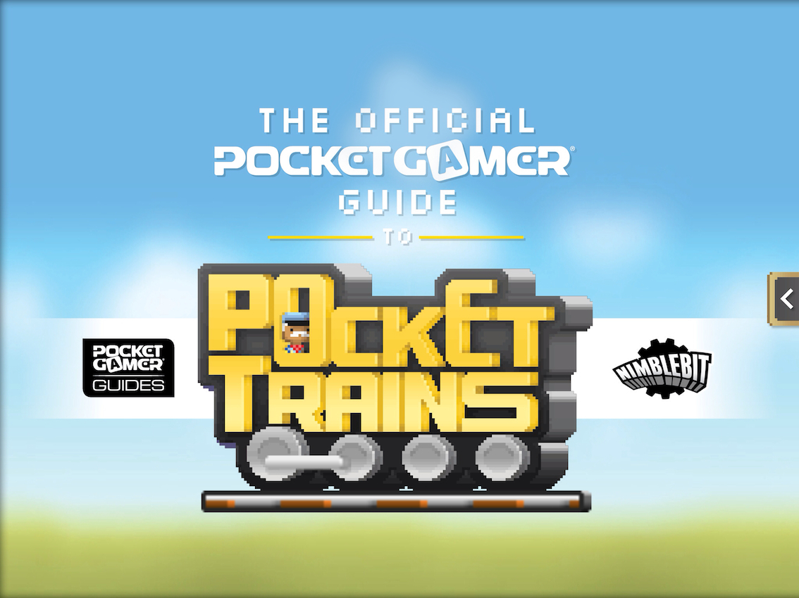The Official Pocket Gamer Guide to Pocket Trains has arrived at the App Store station