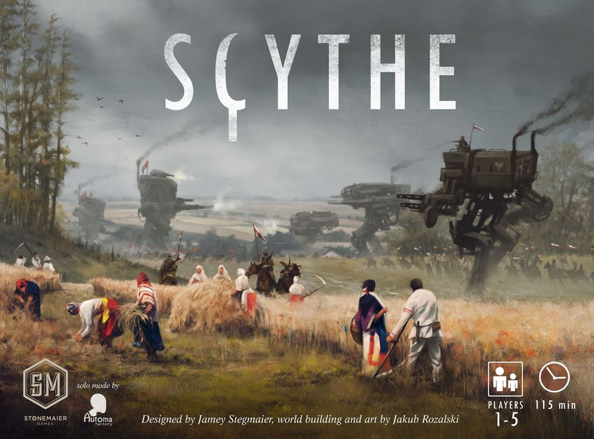 Need to brush up on Scythe before our stream tomorrow? We've got you covered
