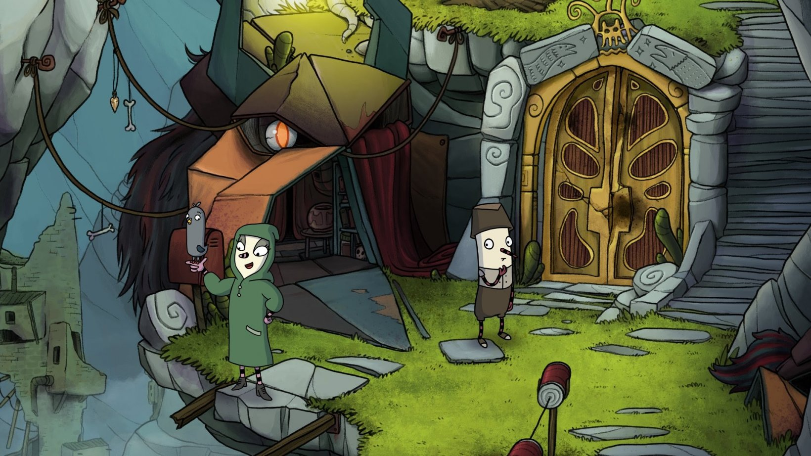 Embark on a new adventure in the 2D puzzler The Inner World - The Last Wind Monk, out now on iOS and Android